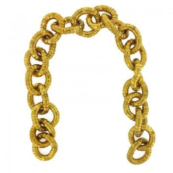 Manico per borse in metallo cm 50 oro