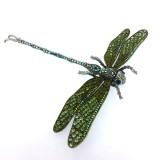 Spilla a forma di libellula gigante 19 x 17 cm