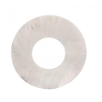Cerchio in conchiglia interno mm 17 esterno mm 40 (mop)