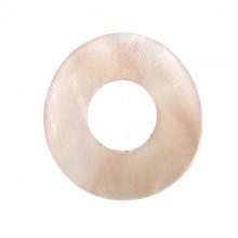 Tondo irregolare in conchiglia mm 30 circa (hammer shell)