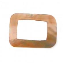 Rettangolo in conchiglia 20 x 15 mm (brow lip)