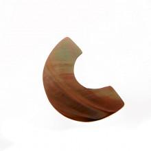 Semicerchio in conchiglia (brown lip) cm 3.5/4 circa