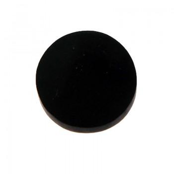 Conchiglia naturale mm 28 con base in resina(brown lip)