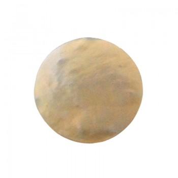 Conchiglia naturale mm 28 con base in resina (mop)