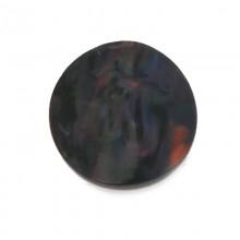Conchiglia naturale mm 28 con base in resina (rainbow)