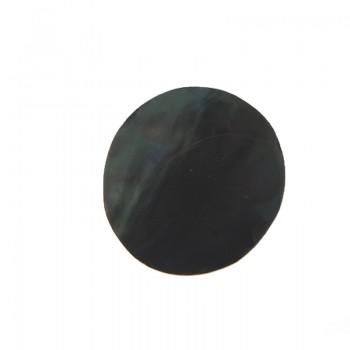 Conchiglia naturale mm 32 con base in resina (rainbow)