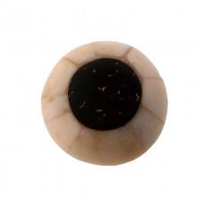 Ottagono conchiglia mm.24 cocco+conchiglia