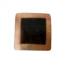 Quadrato in conchiglia black lip naturale/grezza da cm2.5