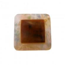 Quadrato in conchiglia mop naturale/grezza da cm2x2