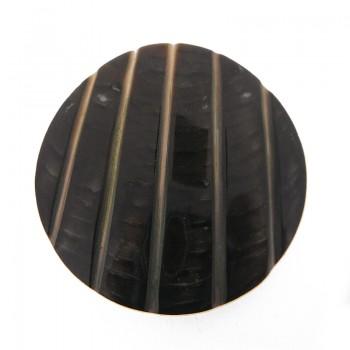 Disco in conchiglia fesonato black lip grezza cm 5 circa
