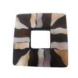 Quadrato legno + mop cm 5.5x5.5