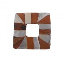 Quadrato legno + mop cm 3.5x3.5