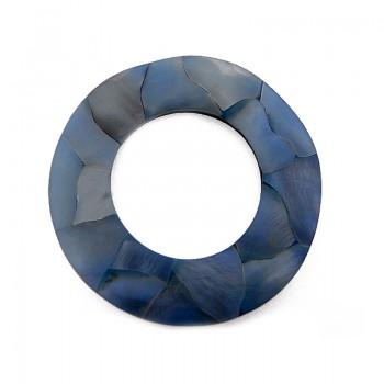 Cerchio in conchiglia (pa004) ( cm 6 esterno, 3.5 interno )