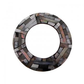 Cerchio in conchiglia (pa009)  ( cm 6 esterno, 3.5 interno )