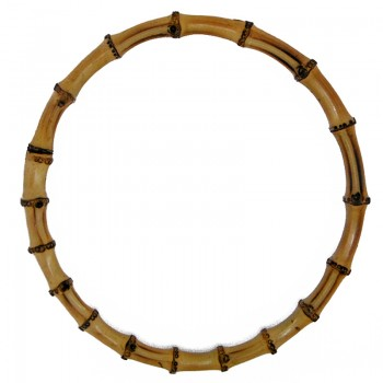 Manico tondo cm 20 in bamboo
