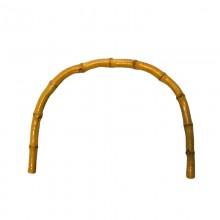 Manico in bamboo per borsa cm 30x26