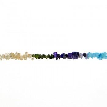 Pietra dura cips multicolor filo da cm.90