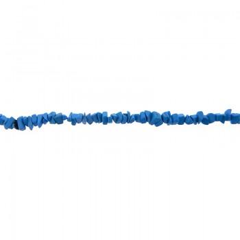 Pietra dura cips turchese filo da cm.90