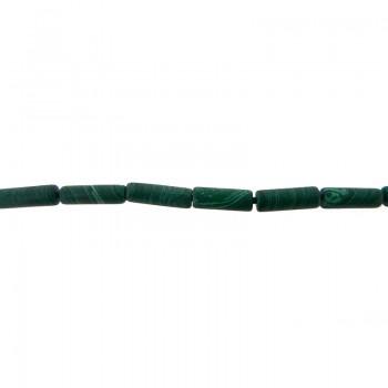 Filo cilindro malachite (circa pz 39) cm 40