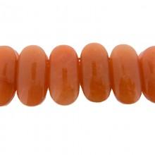 Particolare in agata da mm 26x14 con 2 fori