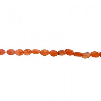 Filo olivina corniola  da cm 40