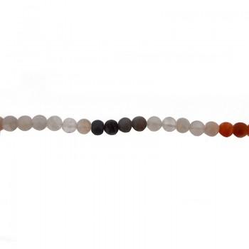 Filo di sfere da mm 10 in pietra luna varie tonalità