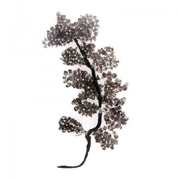 Fiore in pietra dura e minuterie in metallo cm 17/18 circa
