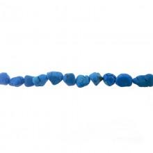 Filo cm 40 turchese sintetico burattato piccolo