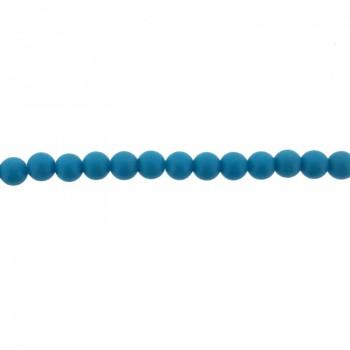 Filo da 40 cm con sfere da 2 mm di turchese ricostituito