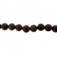 Filo pietra dura diaspro diametro 10 mm da 40 cm