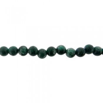 Filo pietra dura agata verde diametro 8 mm da 40 cm