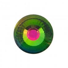 Vetro tondo mm35 sfaccettato vitral medium con foro