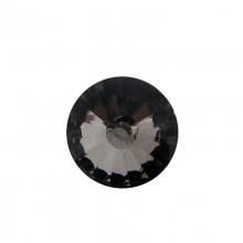 Vetro tondo mm 25 sfaccettato black diamond