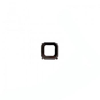 Castone tedesco da ricamo quadrato con griffe 23X23 nickel free