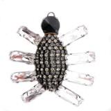 Accessorio insetto con pietre e strass 65 x 70 mm