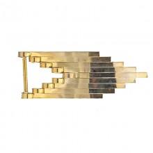 Applicazione geometrica in oro 8 cm