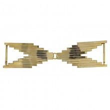 Gancio a forma geometrica in oro 14 cm