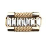 Morsetto in corda con baguette 4.5 cm