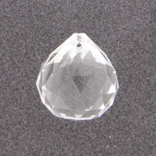 Pendente in vetro a sfera mm 30