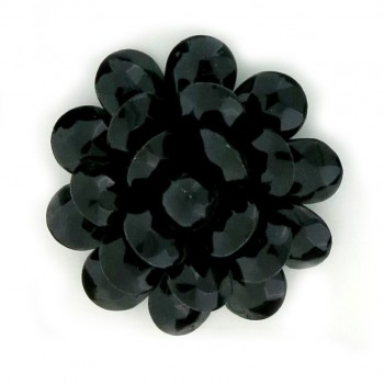 Fiore in plastica colorato mm 50